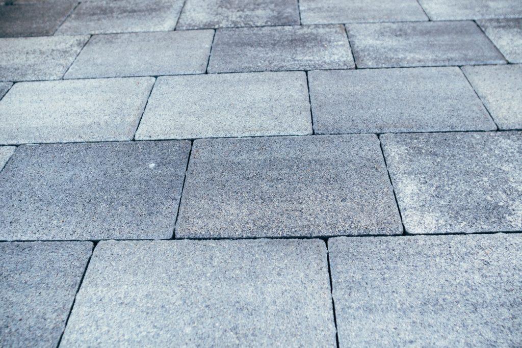 тротуарная плитка серая